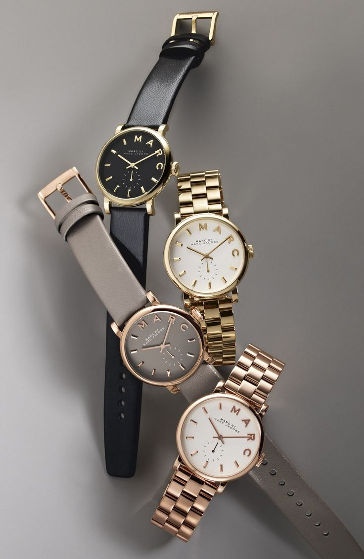 Love them all! These Marc Jacobs watches are on trend for fall.