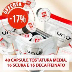 80 CAFFÈ UNO CAPSULE SYSTEM ILLY - MIX MAXI RISPARMIO