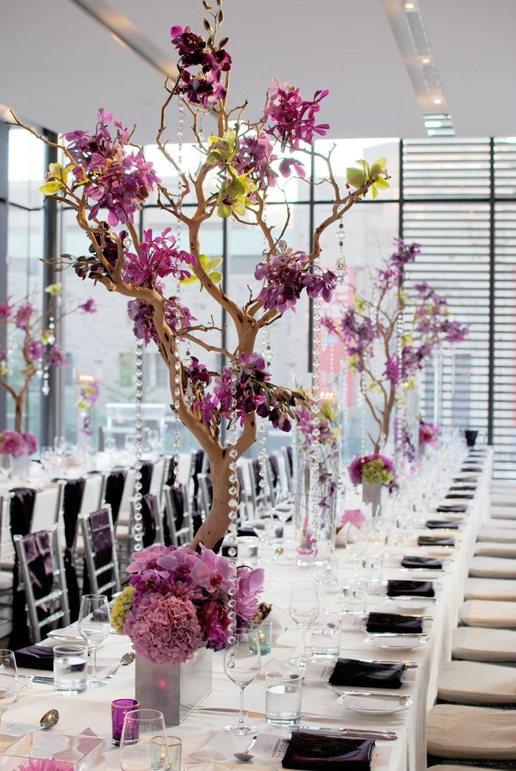 manzanita reception wedding flowers,  manzanita wedding decor, wedding flower centerpiece, wedding flower arrangement, add pic source on comment and we will update it. www.myfloweraffair.com can create this beautiful wedding flower look.