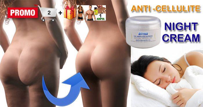Anti-Cellulite body cream treatment