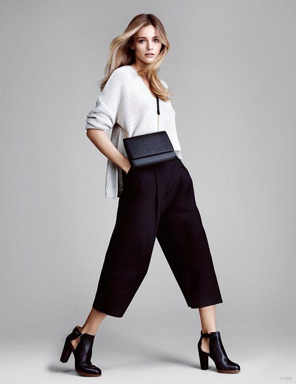 エディタ・ヴィルケヴィシュテ、この春パンツスタイルで魅せる! H&M 2015年春夏ルックブックモデルに - Edita Vilkeviciute
