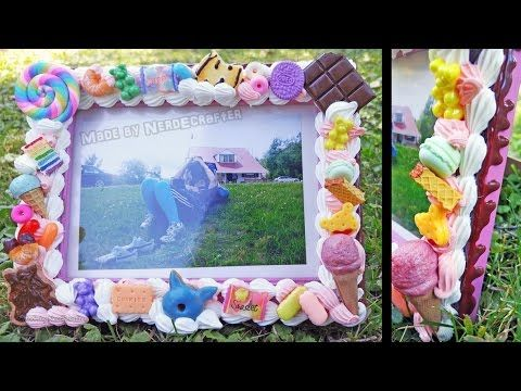 BACK TO SCHOOL DELICIOUS DESSERT PICTURE FRAME DIY - YouTube