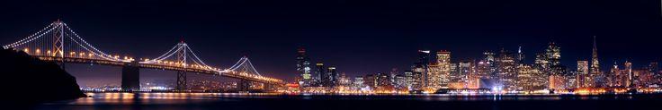 Photography of San francisco baySan Francisco Skyline Panorama in San Francisco, California, United States from November : Pashadelic