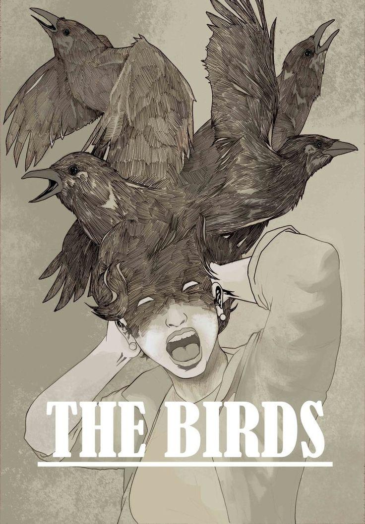 The Birds - movie poster - KePafrenico.deviantart.com