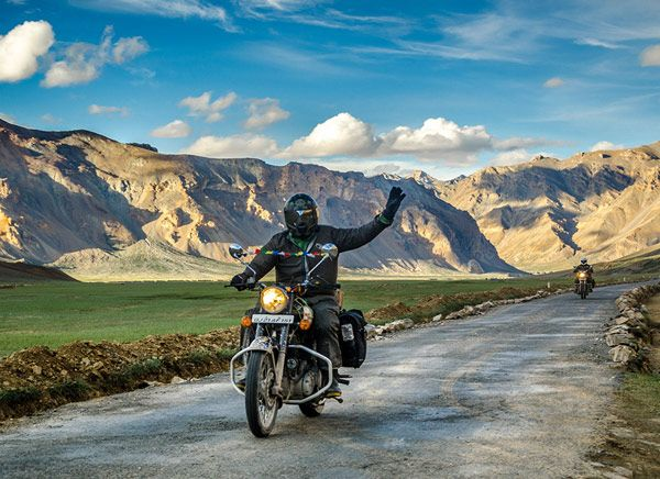 The Bike On Ladakh Roads What Can Be A Much Better Experience