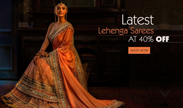 A revolution in the world of designer sarees, the designer #lehengasarees are here to change the face of saree fashion in India.