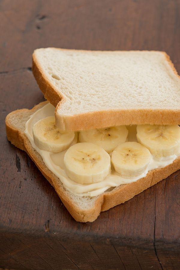 Hellmann's Mayonnaise and bananas are the only two things you'll need to make this sandwich on classic white bread.
