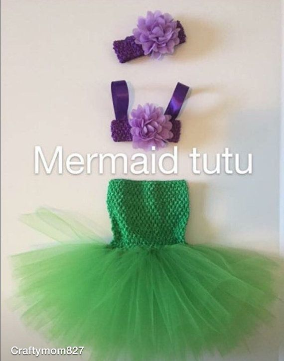 Mermaid tutu baby/toddler / tutu / tutu dress / by craftymom827