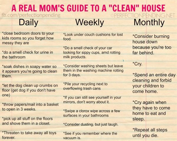 """Clean"" takes on a whole new meaning when you have a house full of kids. #RealLifeGood"