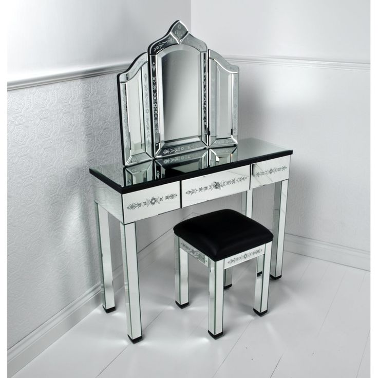 17 Best Ideas About Makeup Table With Mirror On Pinterest
