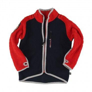 Molo Rock Black Iris Fleece Jacket