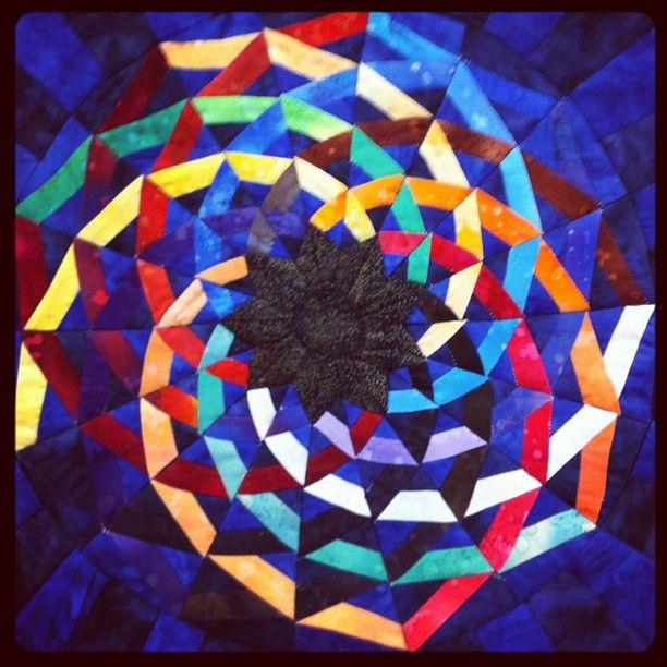 16 best Mandala quilt images on Pinterest | Mandalas, Mandala and ... : mandala quilts - Adamdwight.com