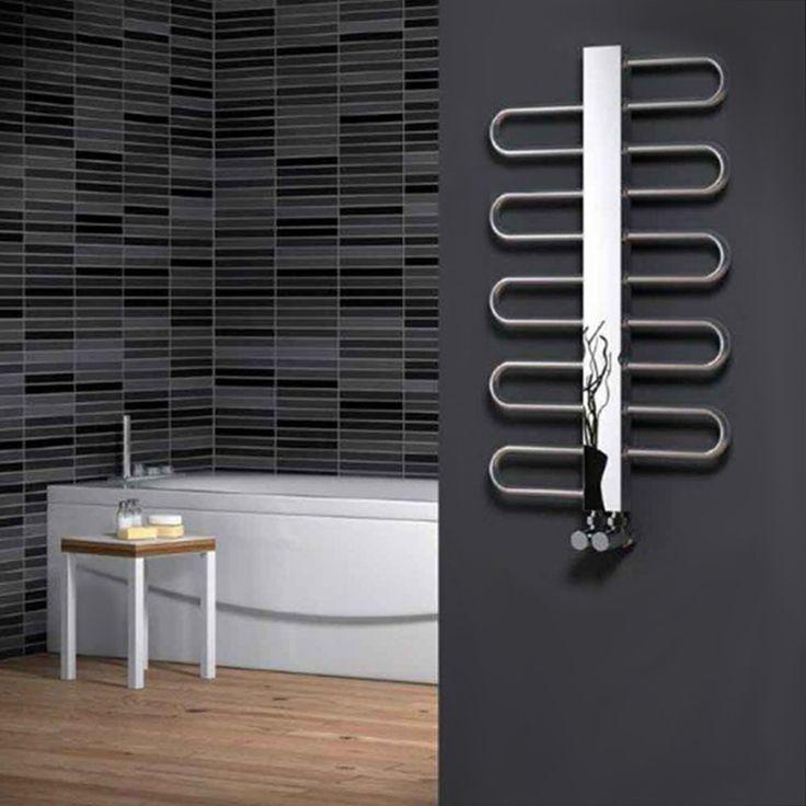 The Reina Dynamic Heated Towel Rail boasts