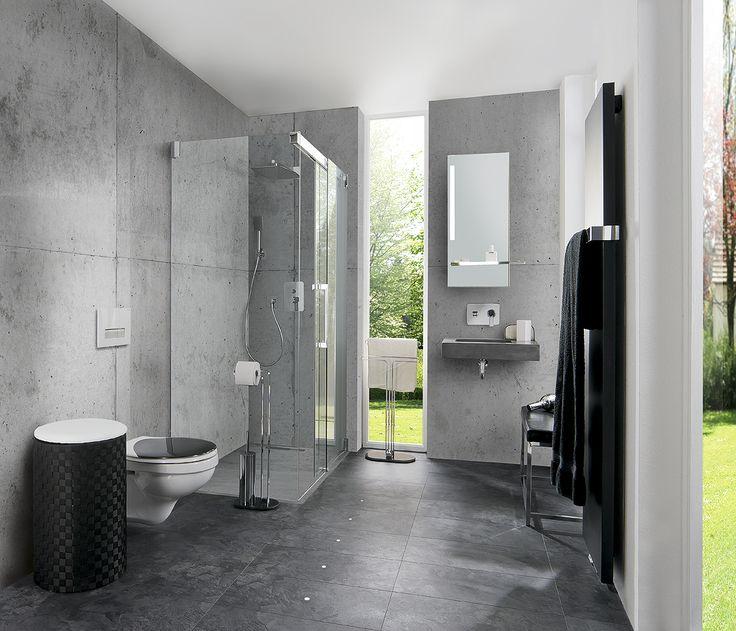 23 besten Unsere Badezimmer-Inspirationen für Design-Liebhaber - inspirationen schwarz weises bad design