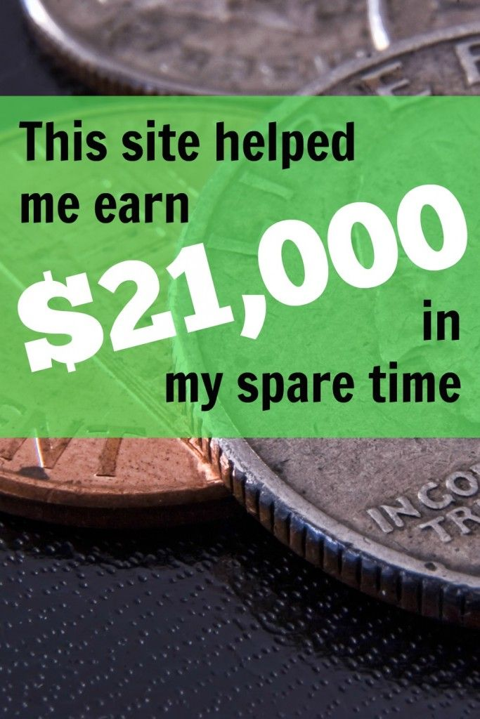 I never thought you could make significant money on this site, but with persistence, it paid off. This site helped me earn $21,000 in my spare time, via @sidehustlenation