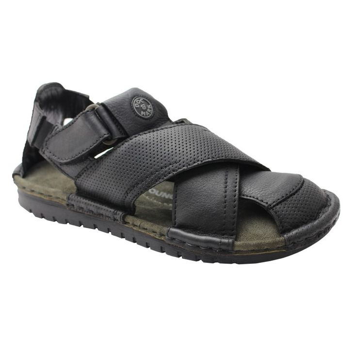 Get best quality men's leather sandals online from Doc&Mark.