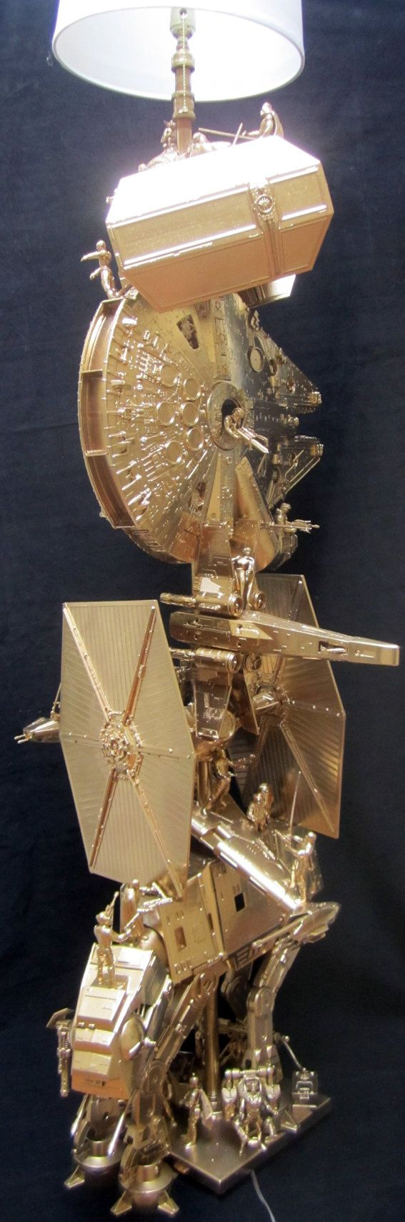 Hey, I found this really awesome Etsy listing at https://www.etsy.com/listing/172750555/star-wars-floor-lamp-almost-6-tall-made