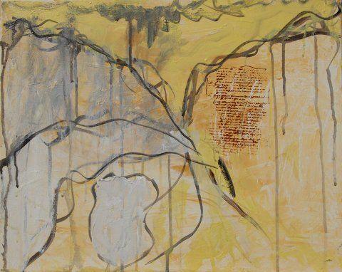 Dim Cavern 2, 50 x 40