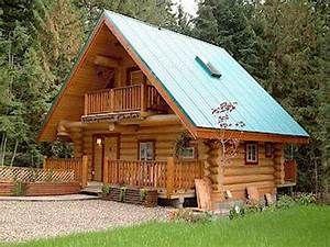 Small Log Cabin Kit Homes Pre-Built Log Cabins, simple log ...