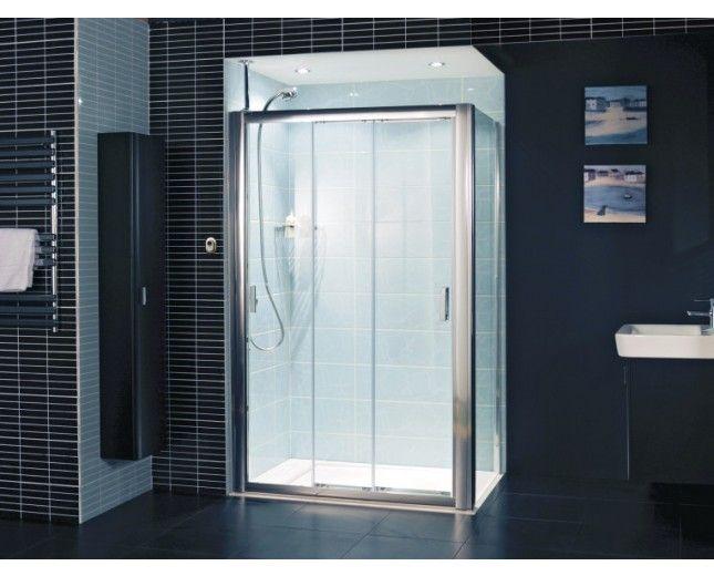 22 best images about stylish elegant shower enclosures on for 3 panel tub shower doors