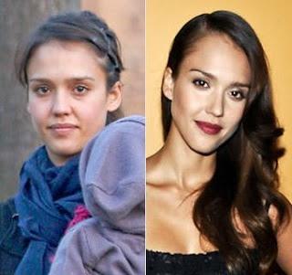Jessica Alba no makeup #withoutmakeup