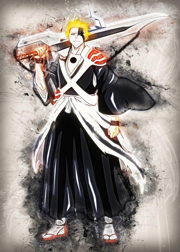 Displate Poster Ichigo - Final Form bleach #ichigo #espada ...