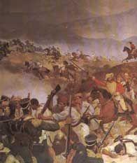 En la batalla de Boyacá , Colombia tiene la libertad de la española monarquía. En conmemoración de esta batalla , 7 de agosto es un día de fiesta nacional en Colombia .