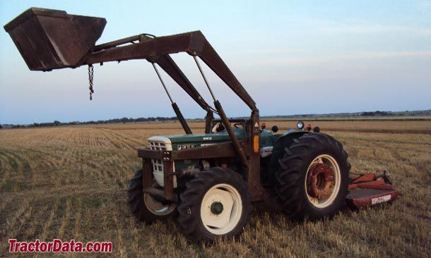 Fiat Built Oliver Tractors : Wd oliver with front end loader made by fiat