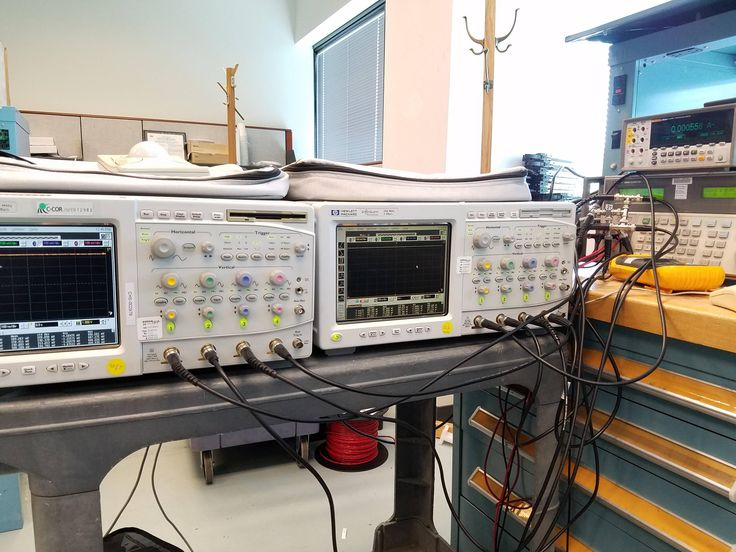 I wasn't sure calibrating vertical gain on 8 channels at once would work, but it did. - Imgur