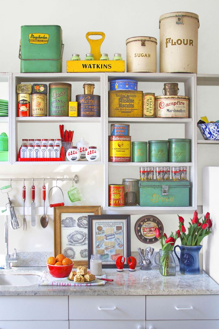 Vintage Kitchen Decor Prepossessing Best 25 Kitchen Collection Ideas On Pinterest  Vintage Kitchen Design Ideas