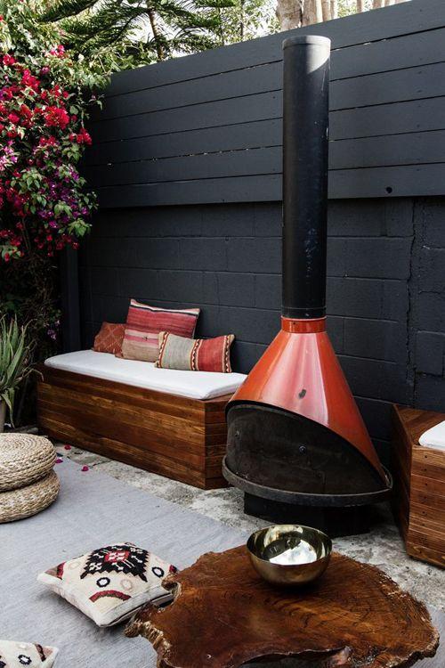 Bank op maat in de tuin | Huis-inrichten.com