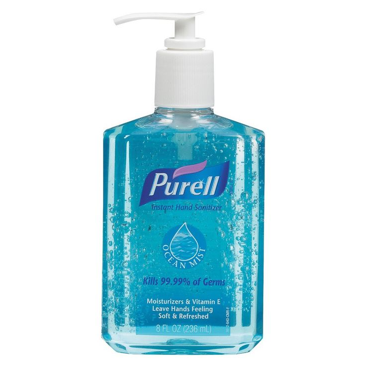 Purell Ocean Hand Sanitizer Hand Sanitizer Germs On Hands Mists
