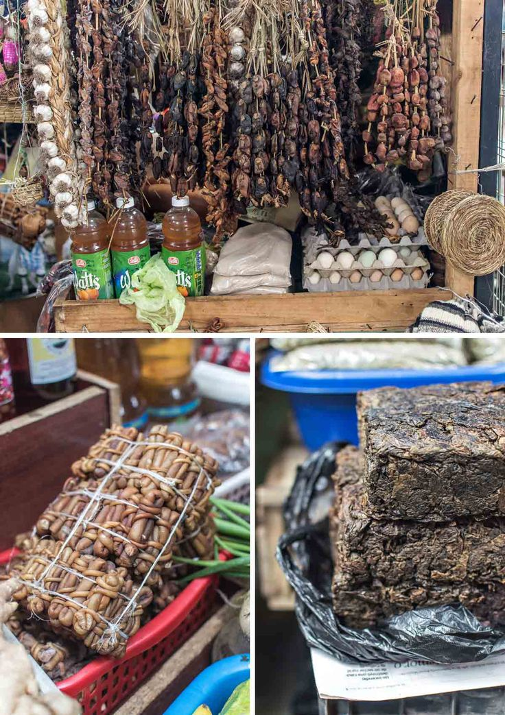 Unique products like luche, cochayuyo and dried mussels can be found at Mercado Municipal Lillo in Castro, Chiloé Island | heneedsfood.com