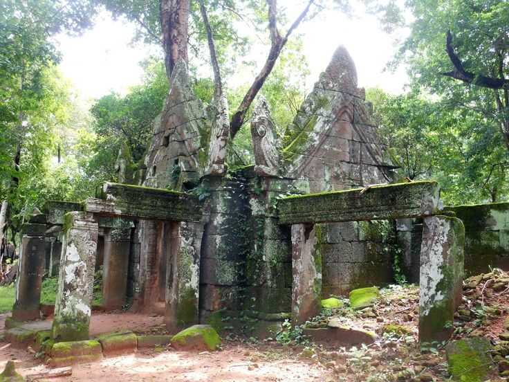 Koh Ker temple built in early 10th century AD during the reign of King Jayavarman IV. Http://www.aboutcambodiaservices.com Info@aboutcambodiaservices.com