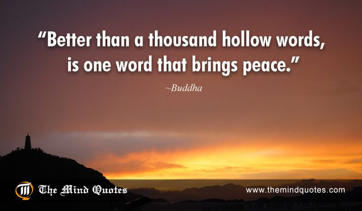 Buddha Quotes on Peace and Spirit - themindquotes.com