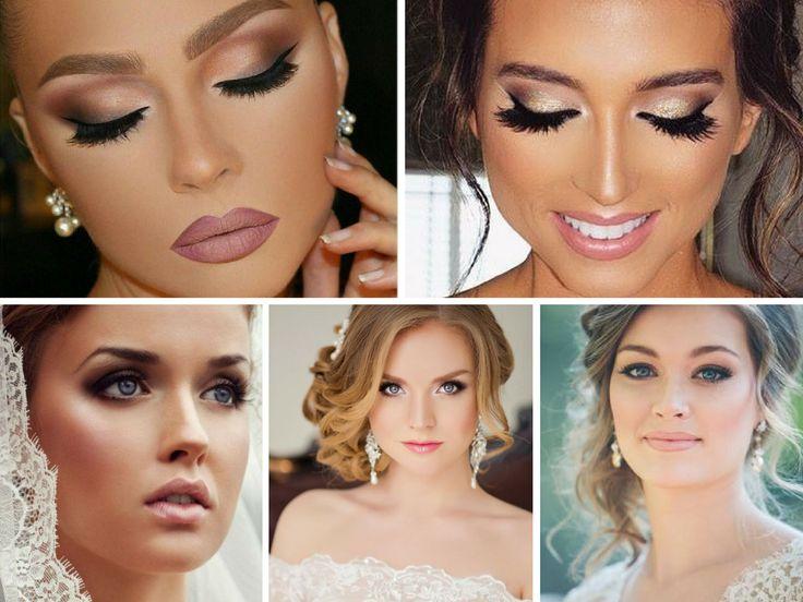 Ideias de Maquiagens de Noiva - http://webfeminina.com/ideias-de-maquiagens-de-noiva/