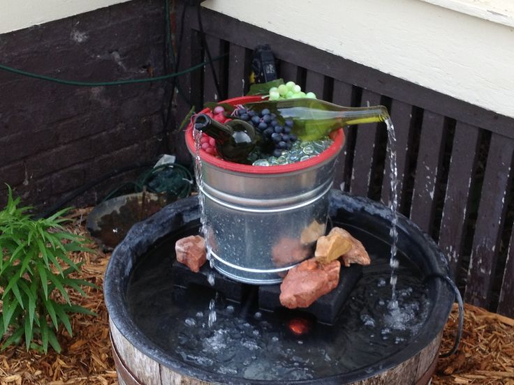 Wine Bottle Fountain FB VIDEO