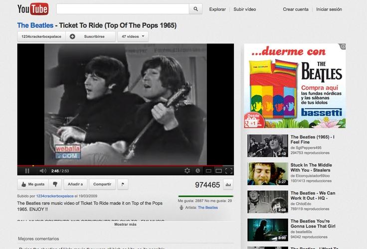 El Edredón de los Beatles