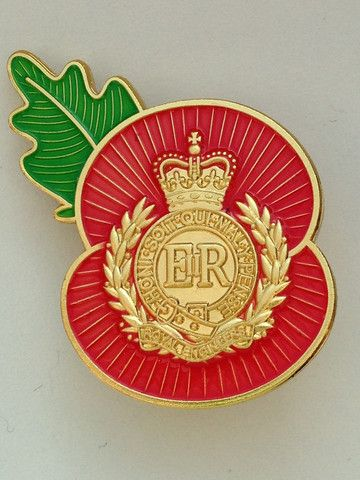 Royal Engineers Remembrance Pin