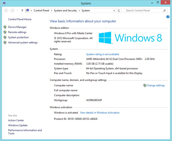 How To Activate Windows 8 Pro Permanently And Get All