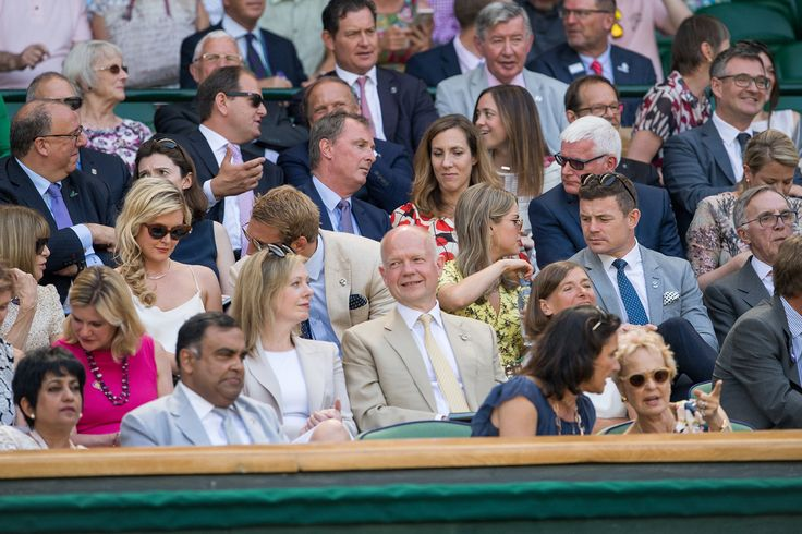 William Hague, in the Royal Box