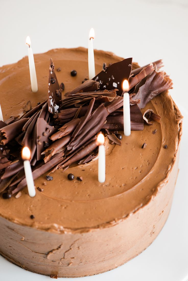 Chocolate Cremeux Cake with Espresso Buttercream | Now, Forager | Teresa Floyd
