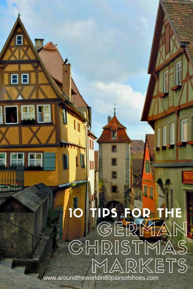 Germany Travel Inspiration - thinking of heading to the German Christmas Markets then check out my 10 handy tips before you head away on your christmas vacation! From what to pack, to where to go and what to eat - these travel tips for the Christmas Markets in Germany will help you out. Click the link to read all ten tips! #80pairsofshoes #christmasmarket