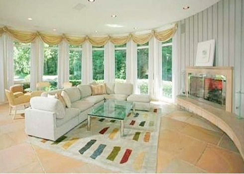 Whitney Houston's New Jersey home.