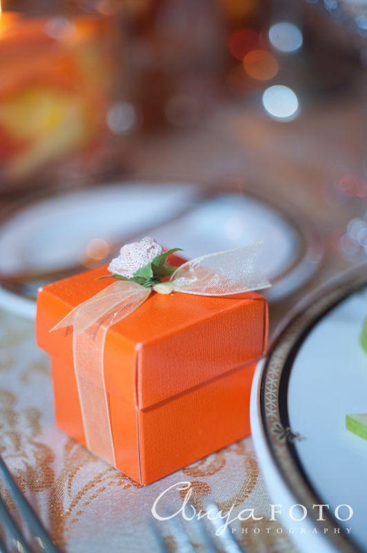 Wedding Favors anyafoto.com #wedding #weddingcakes, wedding favor ideas, wedding favor desings, orange wedding favors, wedding favor box, orange wedding favor box
