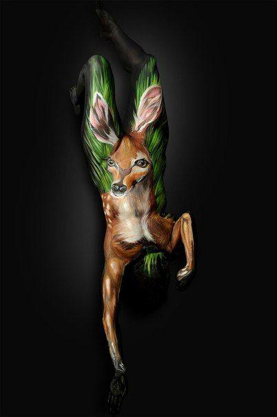 Восхитительный боди-арт от Shannon Holt