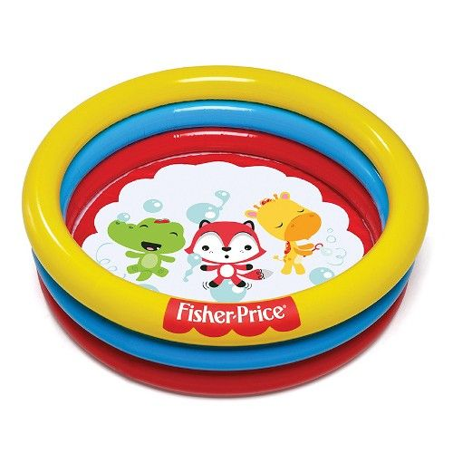 Piscina Inflável Colorida 88L com 25 Bolinhas - Fisher-Price