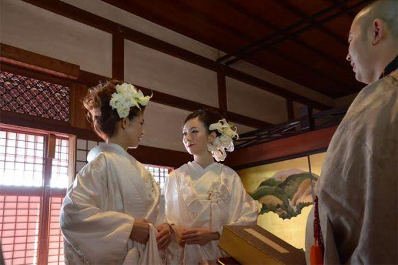 Bodas gay por primera vez en un templo de Kioto. Un gran paso para la comunidad #LGTB