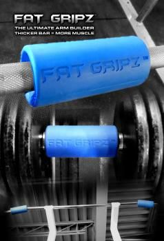 Do you want bigger and stronger forearms? Try Fat Gripz! Used by thousands of athletes and military, including many Special Forces soldiers, NFL players, top MMA fighters, Bodybuilders and CrossFitters!