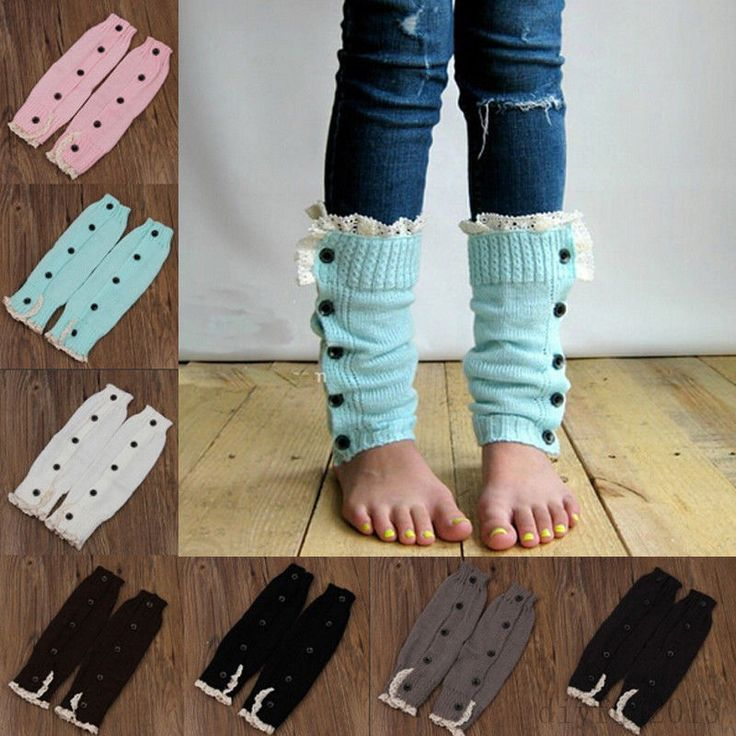 Kids Girls Knitted Leg Warmers Lace Trim Button Socks Christmas Gift New in Clothing, Shoes & Accessories, Kids' Clothing, Shoes & Accs, Girls' Clothing (Sizes 4 & Up) | eBay